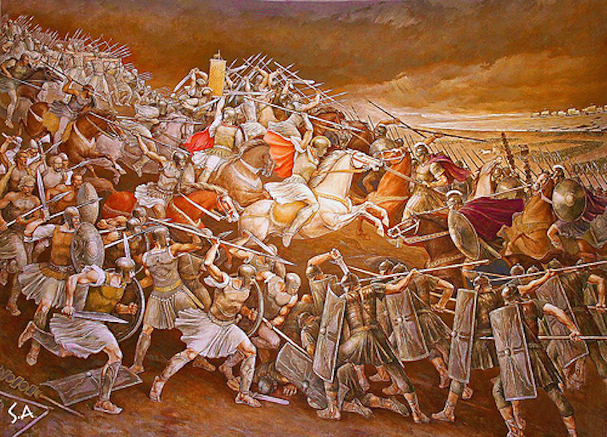 Illyrians against Romans
