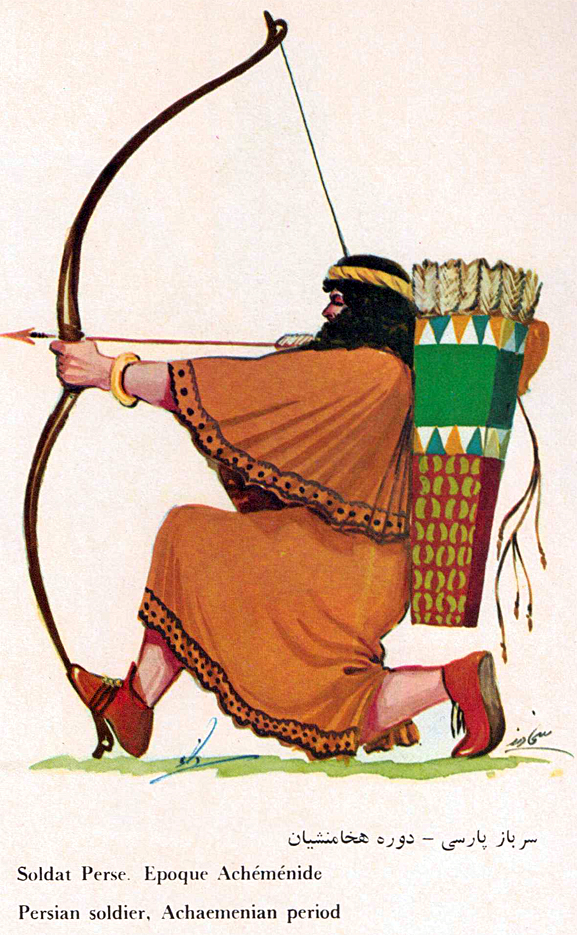 Imperial Achaemenian Persian Long Archer