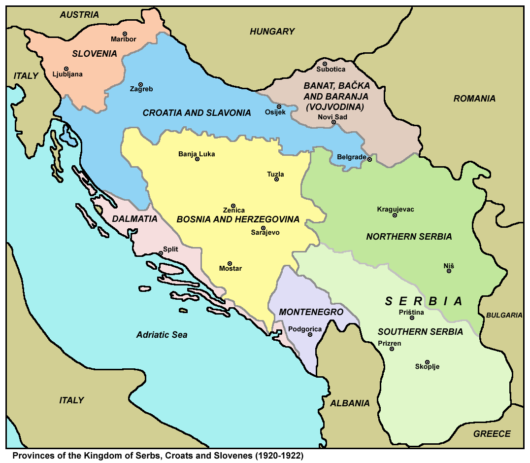 Kingdom of Serbs, Croats and Slovenes